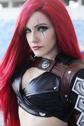 Katarina du Couteau (A Twist of Fate) Cosplay by naysimo