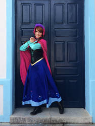 Princess Anna Cosplay by naysimo