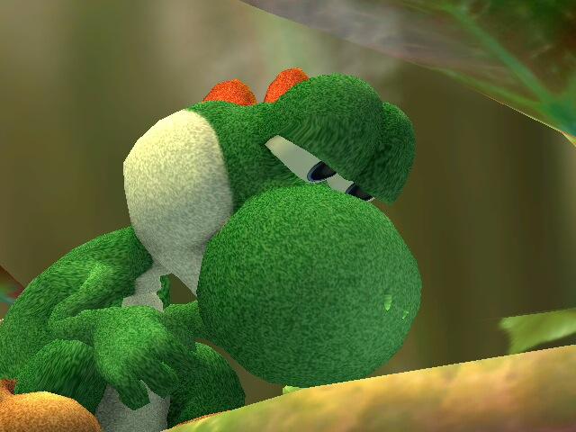 Realistic Yoshi Realistic yoshi nature...