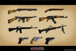 Weapon Concept pour le jeu Maf by ia-design