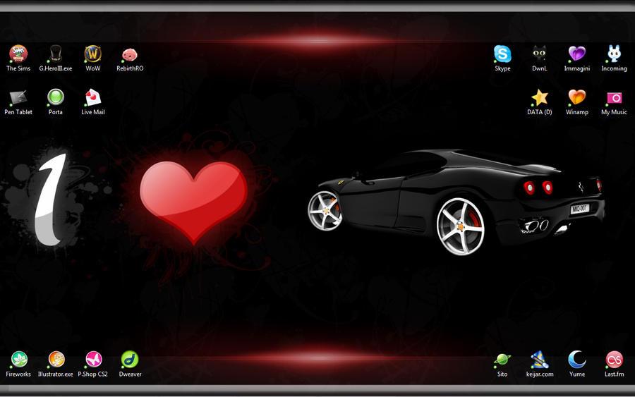 :: Ferrari Desktop :: by YumeKimino