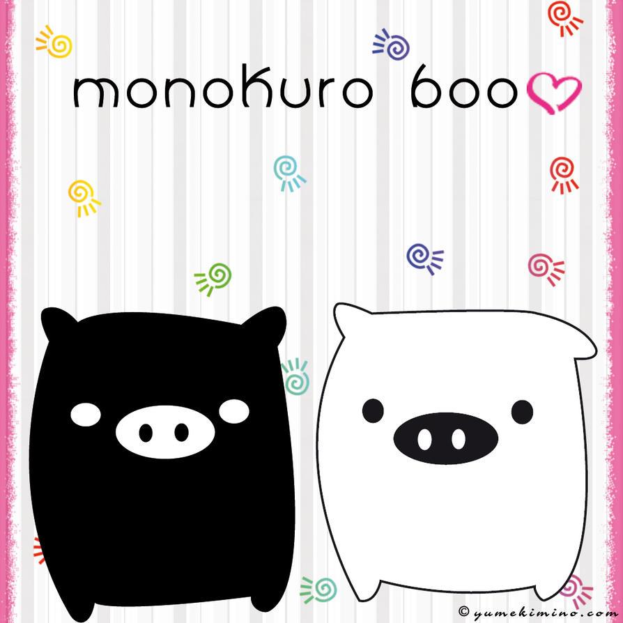 Monokuro Boo by YumeKimino