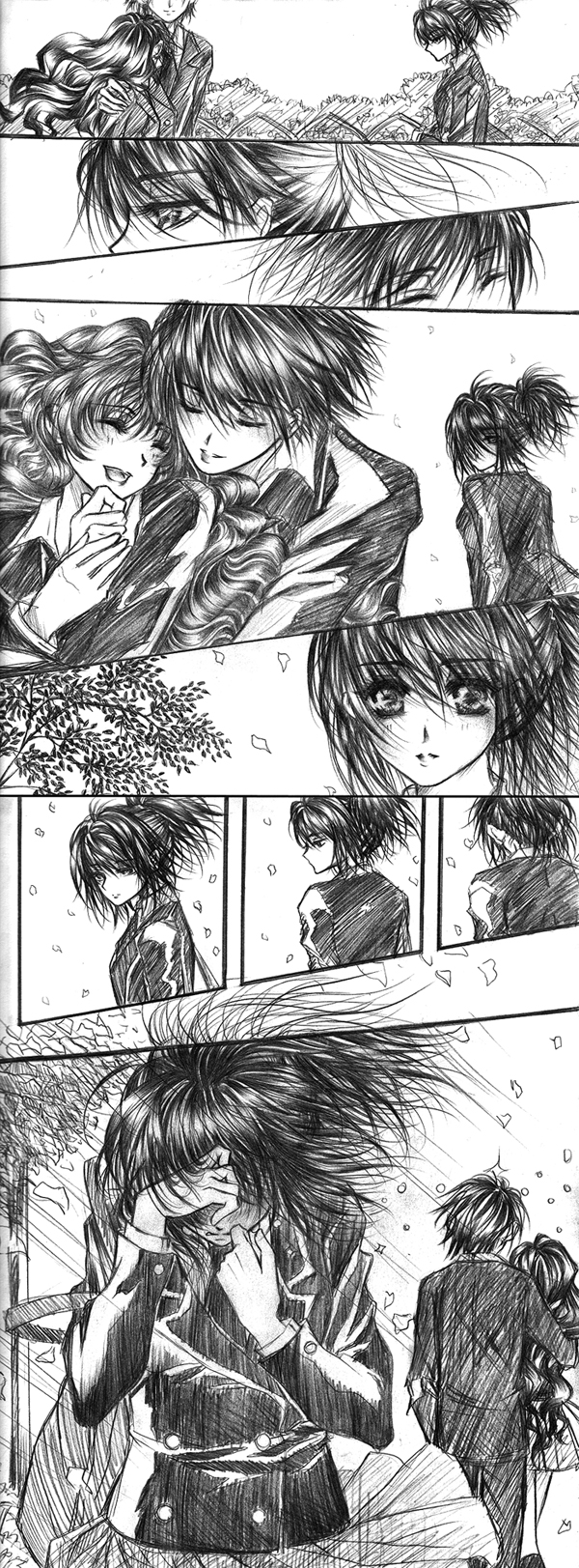 Manga Sketch by Florineil-chan