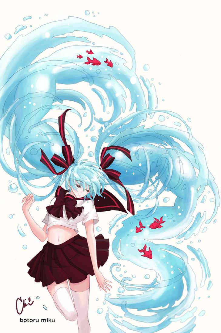 Botoru Miku by Florineil-chan