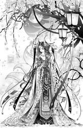 COMM: Fox Lady by Rori-kun
