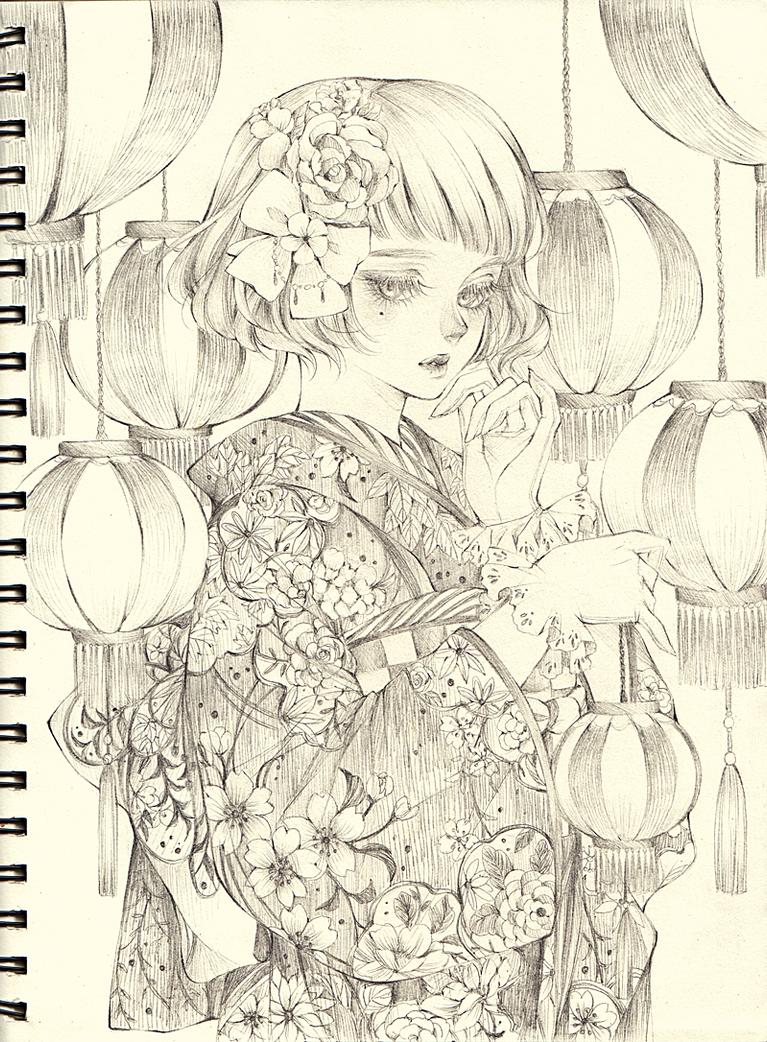 Matsuri by Florineil-chan