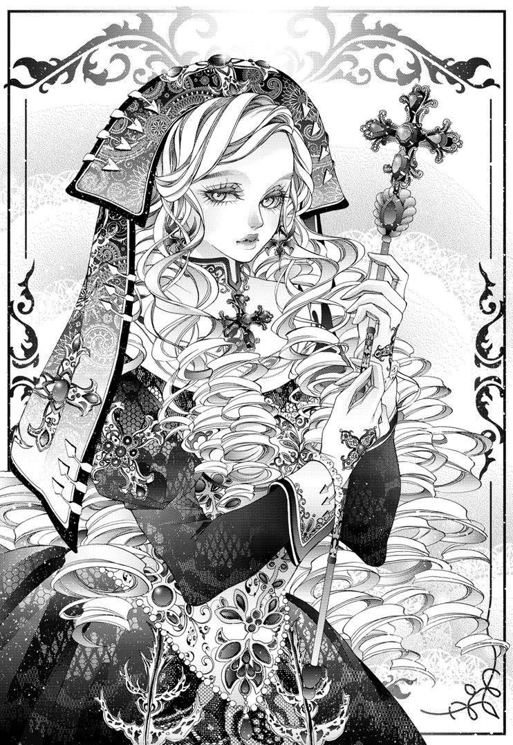 COM: Nun by Florineil-chan