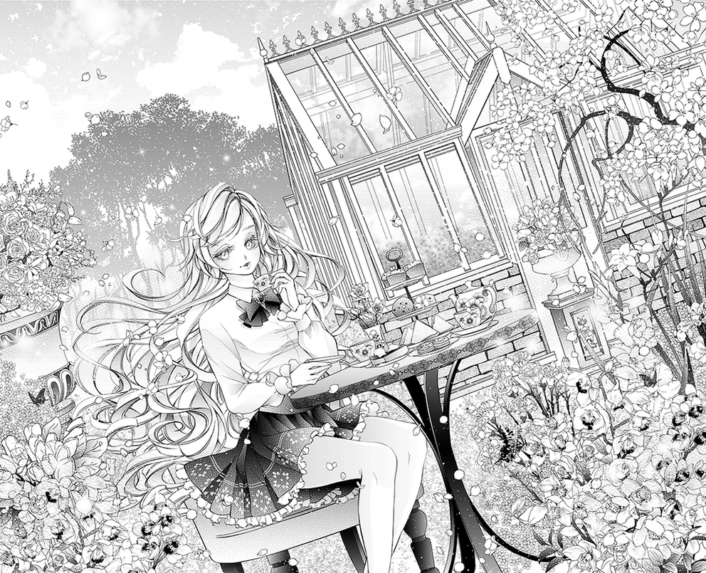 COM: High Tea by Florineil-chan