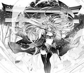 COM: Tsuki by Florineil-chan