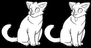 Warrior Cats Warrior/Medicine Cat F2U Base