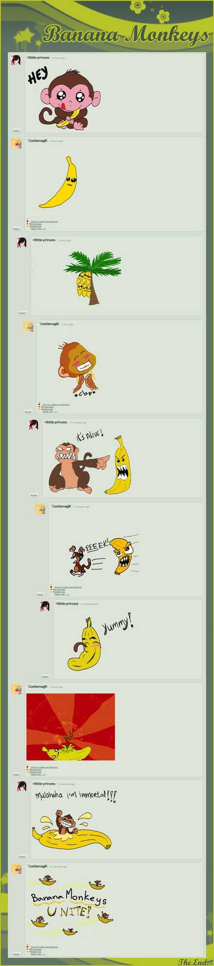banana monkeys