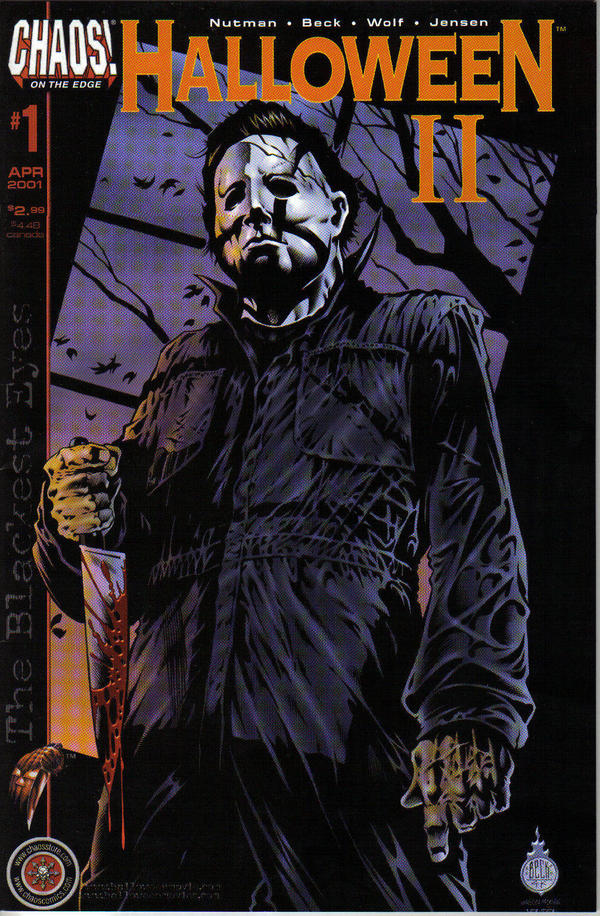 Book Cover Art Submissions : Halloween comic book cover by jerrybeck on deviantart