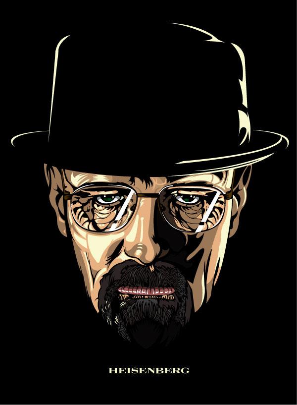 Walter White aka Heisenberg by nosmallvictories