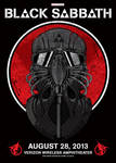Black Sabbath Gig Poster