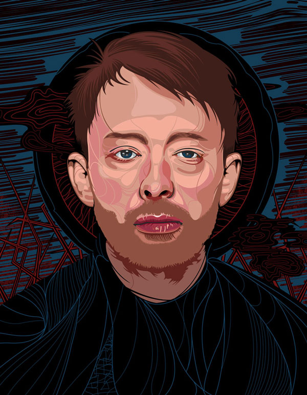 Thom Yorke by nosmallvictories