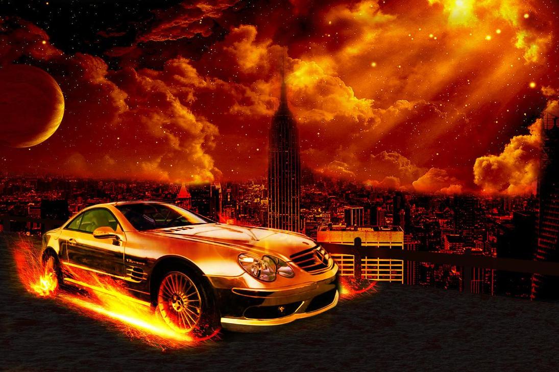 fire car by spirtualharmoney on DeviantArt