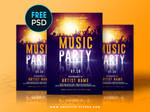 Free PSD Flyer Templates by Ekxotemplate