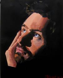 Portrait III by DominiksArt