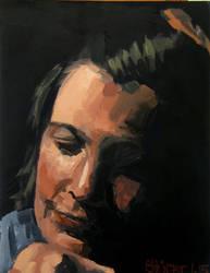 Portrait IV by DominiksArt