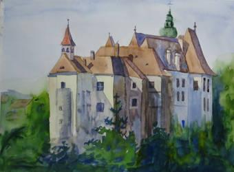 Burg Raabs by DominiksArt