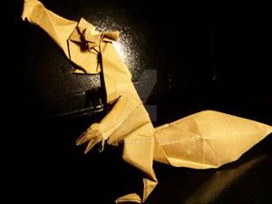 Origami Prehistoric Squirrel