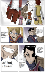 lazy town manga color 01 (in English) by Videogamer555