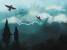 Dark Skies by DeaBellona