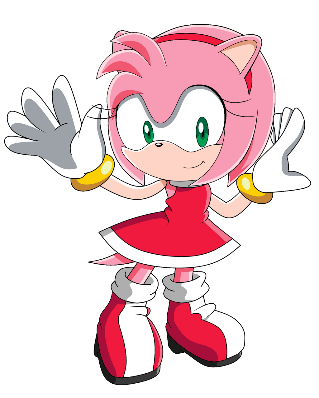 Amy Rose By SiIent-AngeI On DeviantArt
