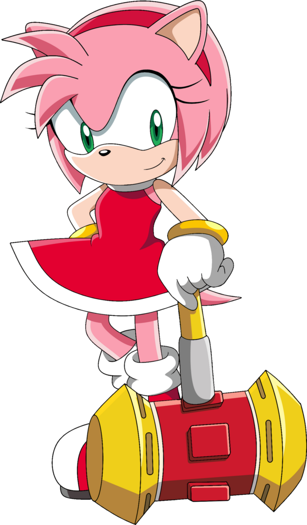 Sonic the hedgehog and amy rose