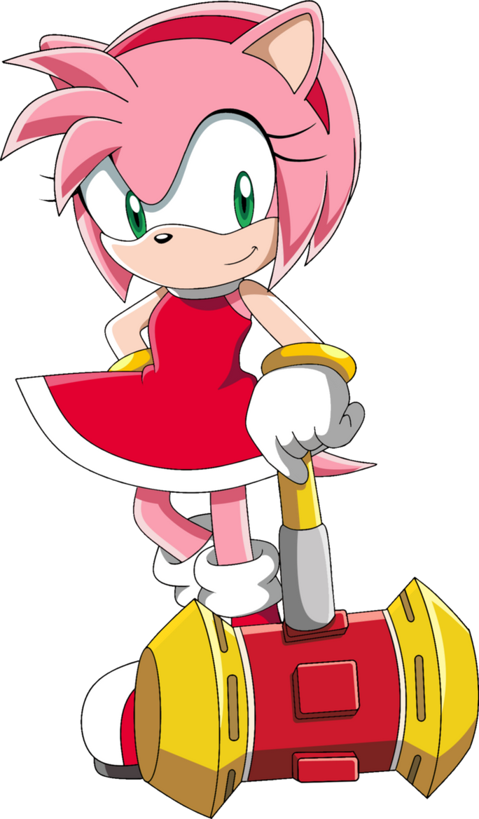Amy rose by theleonamedgeo on deviantart - Amy rose sonic x ...