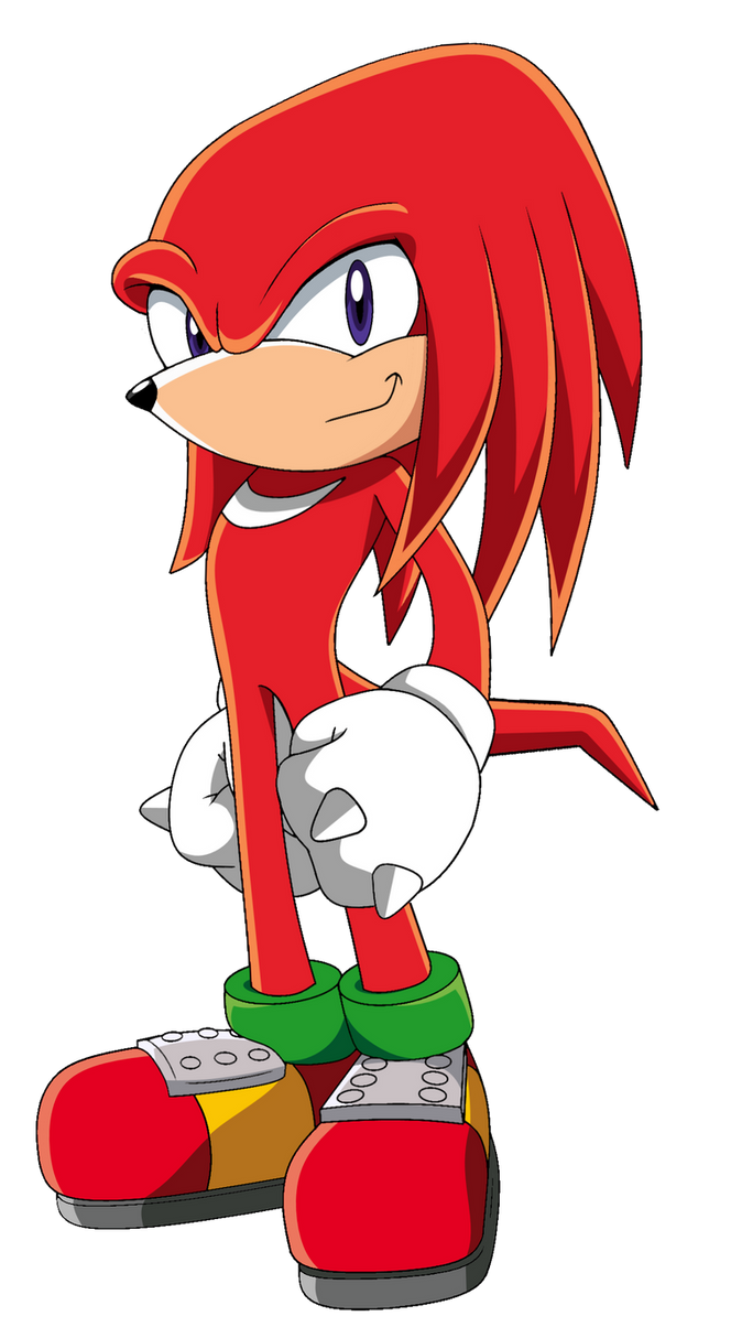 Knuckles the Echidna by SiIent-AngeI on DeviantArt