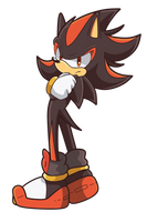 Shadow the Hedgehog by TheLeoNamedGeo