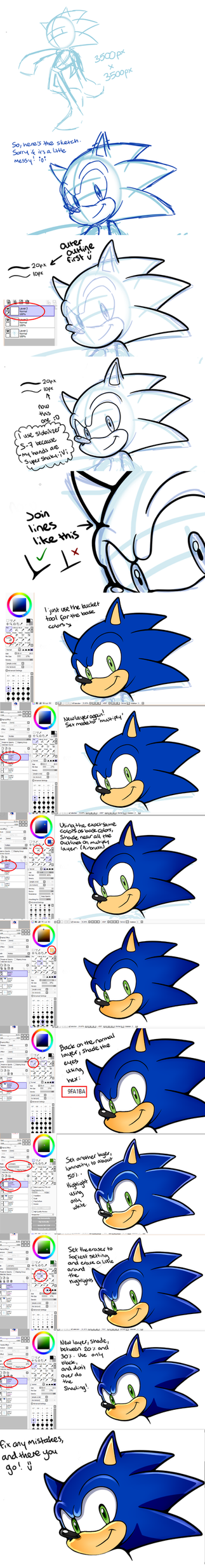 My Sonic Adventure 2 / Sonic Channel tutorial by SiIent-AngeI