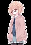 Kyoukai no kanata render