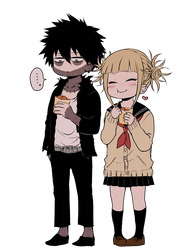 Dabi and Toga  Chibi Render by Lcookies