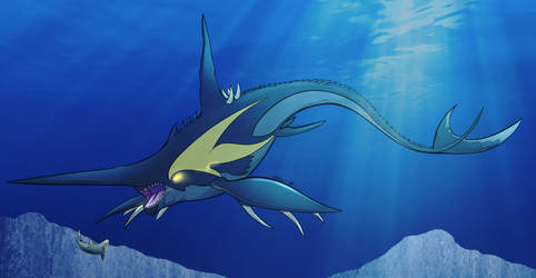 Collab - Black Leviathan by Okura