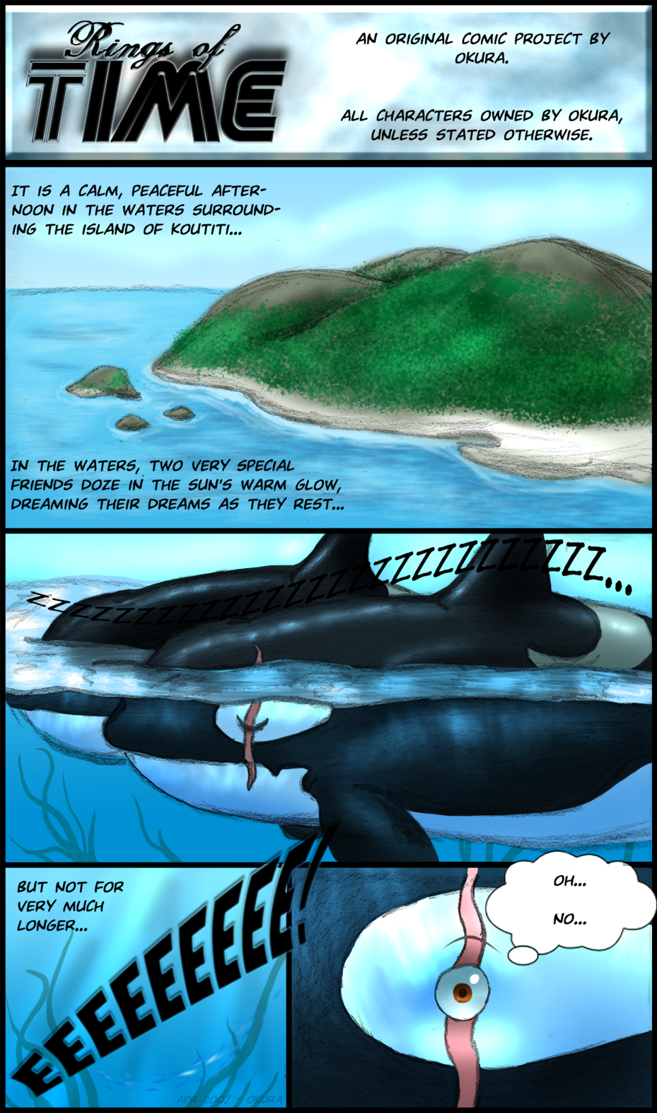 Rings of Time - Page 1 by Okura