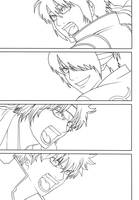 Gintama 515 Cover Lineart