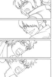 Gintama 515 Cover Lineart by Spitfire95