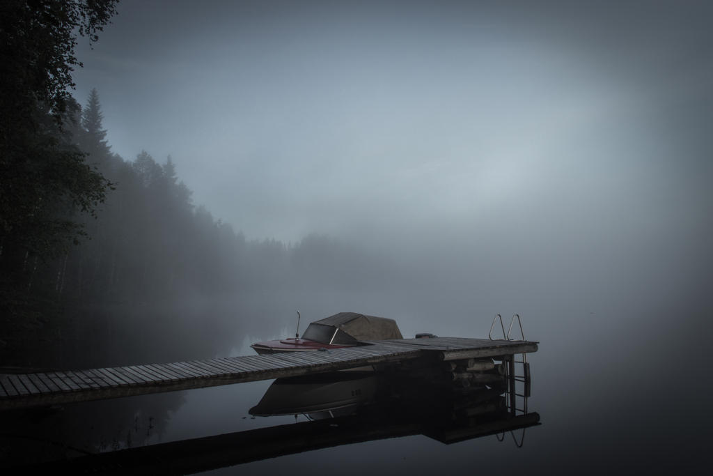 Foggy dawn II by mabuli