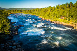 Kiruna river by mabuli