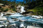 Abisko waterfall