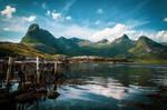 Mountains II by mabuli