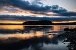 Sunset lake III