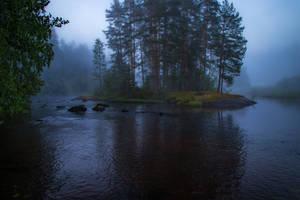 Misty river III