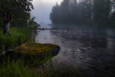 Misty river IV