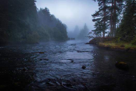 Misty river V