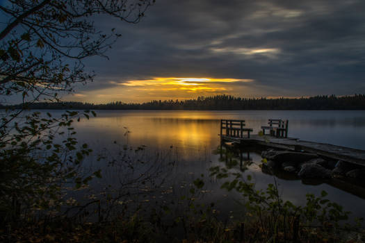 October sunset II