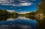 Summer lakescape II