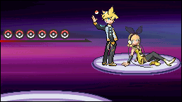 Sample Len-Rin Sprite Battle by Deciime-Haruka